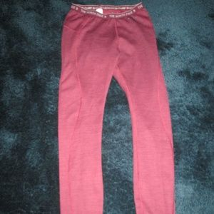 The North Face - Red & Burgandy Yoga Pants Size M